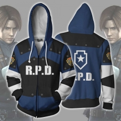 Resident Evil 2 Remake Re Leon Scott Kennedy Hoodie Sweatshirt