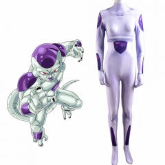 Dragon Ball Z Frieza Zentai Suit Freezer Kids Adults Costume
