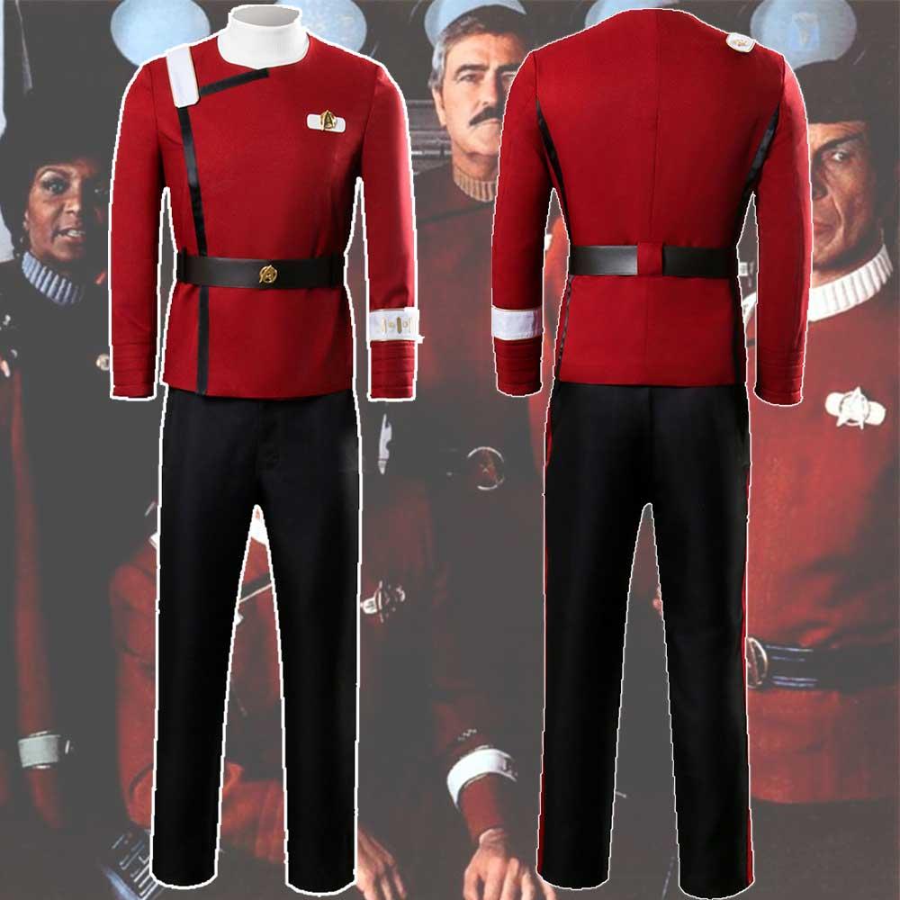 Star Trek Discovery Season 2 Captain Pike Mens Trousers Halloween Costumes Pants