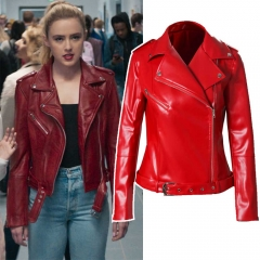 Freaky Millie Newton Maroon Cosplay Leatheroid Jacket