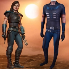 The Mandalorian Season 2 Cara Dune Costume Zentai Suit