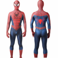 Classic Sam Raimi Spider-Man Superhero Suit Kids Adults