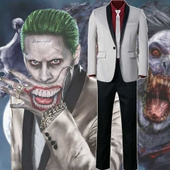 Jared Leto Joker Suicide Squad Cosplay Costume Shirt Coat Pants