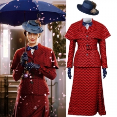 New Disney Movie Mary Poppins Halloween Cosplay Costume Hat