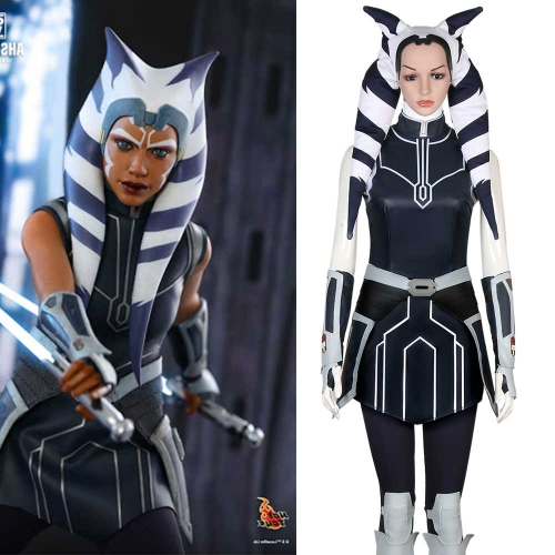 Star War The Clone Wars season 7 Ahsoka Tano Cosplay Costume