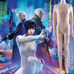 Ghost In The Shell Major Scarlett Johansson Cosplay Costume Suit Kids Adults