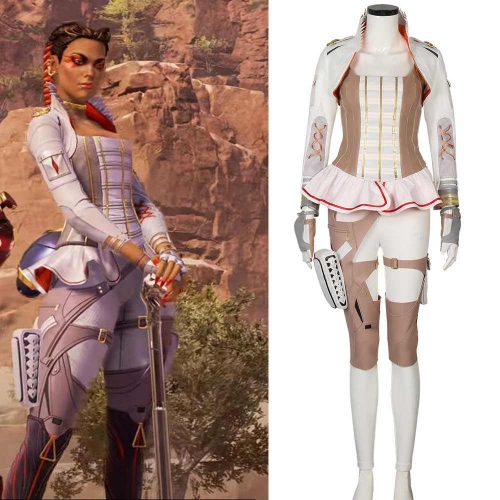Loba Game Apex Season 5 Women Cosplay Costume