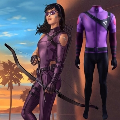 Hawkeye Katherine Bishop Superheroine Cosplay Zentai Suit