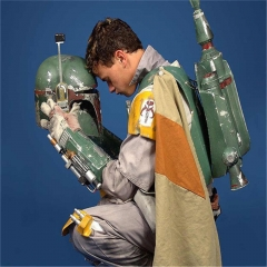 Star Wars Boba Fett Bounty Hunter PVC Hard Helmet Replica
