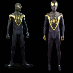 PS5 Spider-Man's Uptown Pride Suit Miles Morales Yellow Cosplay Costume