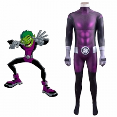 Beast Boy Teen Titans Cosplay Costume Kids Adults