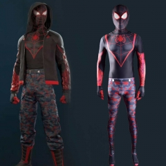 PS5 Marvel's Spider-Man: Miles Morales The End Suit Mask Adult Kids