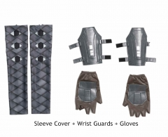 Sleeve Cover+Wrist Guards+Gloves