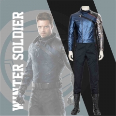 The Falcon and the Winter Soldier Bucky Barnes Cosplay Costume Adult