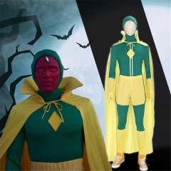 Adult WandaVision Superhero Vision Cosplay Costume