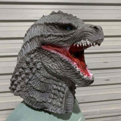 Realistic Godzilla vs Kong Halloween Cosplay Mask