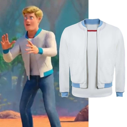 Scoob! Fred Jones Coat Shirt Cosplay Costume