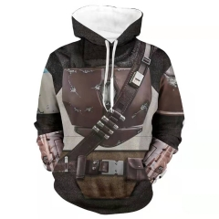 Star Wars The Mandalorian Season 2 Din Djarin Hoodie