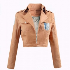 Attack on Titan Survey Corps Wings of Liberty Cosplay Jacket Coat