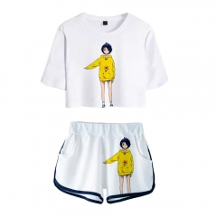 Wonder Egg Priority Ohto Ai Crop-Top Shorts