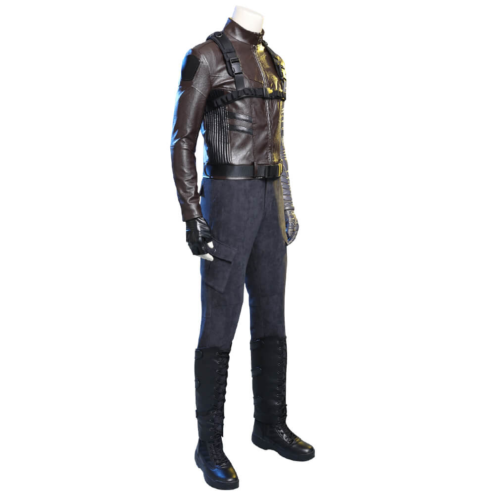 Takerlama The Falcon and the Winter Soldier Bucky Barnes Cosplay Costume