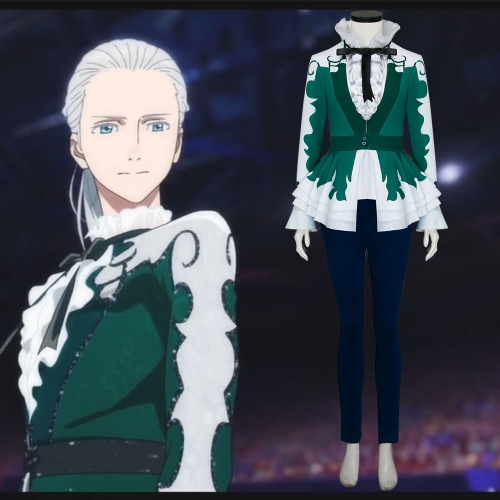 Yuri On Ice the Movie Ice Adolescence Victor Nikiforov Cosplay Costume