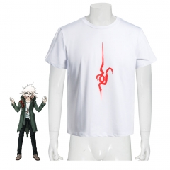 Danganronpa 2 Goodbye Despair Nagito Komaeda T-Shirt Cosplay Costume
