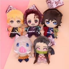 Demon Slayer: Kimetsu No Yaiba Tanjiro Kamado Zenitsu Agatsuma Plush Doll