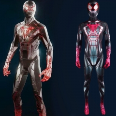 PS5 Spiderman Miles Morales 2021 Programmable Matter Suit Cosplay Costume