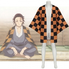 Demon Slayer Kimetsu no Yaiba Tanjirou Father Tanjuro Kamado Cape Cosplay