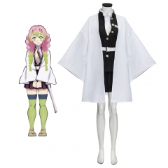 Kanroji Mitsuri Uniform Cosplay Costume Anime Demon Slayer: Kimetsu no Yaiba