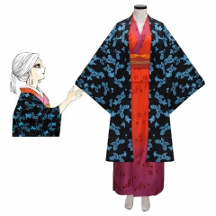 Ubuyashiki Amane Cosplay Costume-Demon Slayer Kimetsu no Yaiba