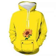 Ohto Ai Yellow 3D Printed Hoodie-Wonder Egg Priority