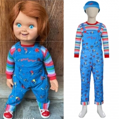 Kids Child's Play Chucky Cosplay Costume Gift
