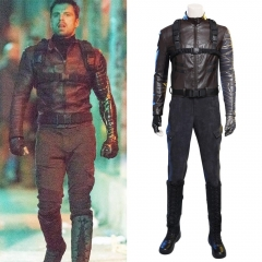 The Falcon and the Winter Soldier Bucky Barnes Cosplay Costume (No Boots)