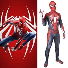 Spiderman PS4 Peter Parker Body Suit Cosplay Costume Adult Kids