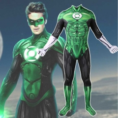 Green Lantern Body Suit Cosplay Costume Adult Kids