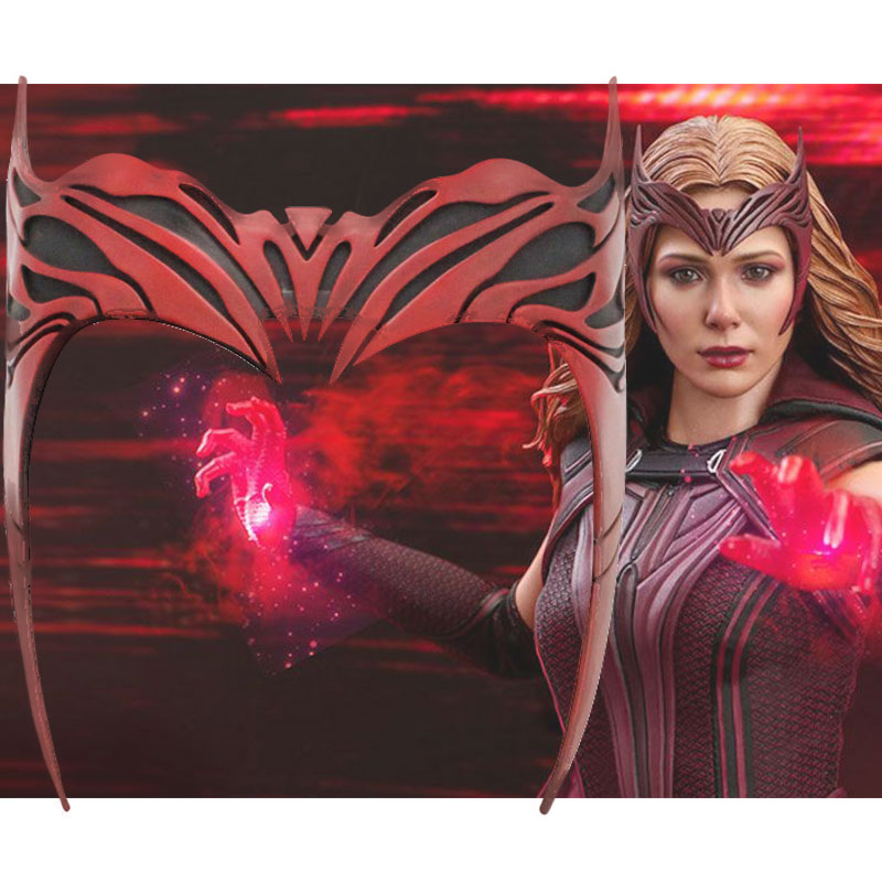 Scarlet Witch Wanda Maximoff Crown Cosplay Props-WandaVision
