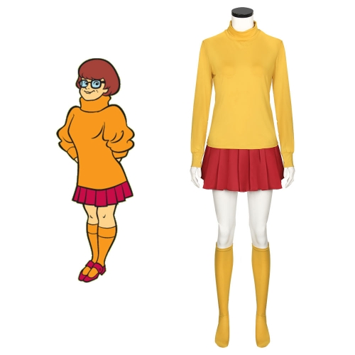 Scooby Doo Velma Dinkley Cosplay Costume