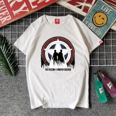 The Falcon and the Winter Soldier Cotton T-Shirt Cosplay Costume