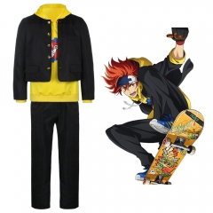 SK8 the Infinity Reki Kyan Cosplay Costume Coat Hoodie Pants