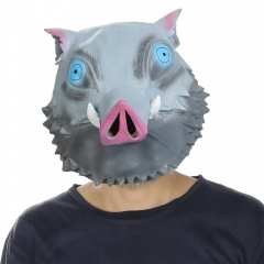 Demon Slayer Hashibira Inosuke Cosplay Full Face Mask