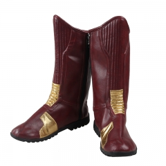 Deluxe The Flash Season 2 Barry Allen Leather Boots Shoes