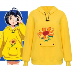 Wonder Egg Priority Ohto Ai Yellow Sunflower Hoodie Homewear