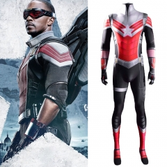 The Falcon and the Winter Soldier Sam Wilson Captain America Cosplay Costume