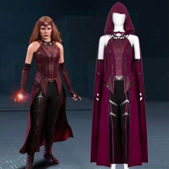 Scarlet Witch Wanda Maximoff Cosplay Costume Crown-WandaVision