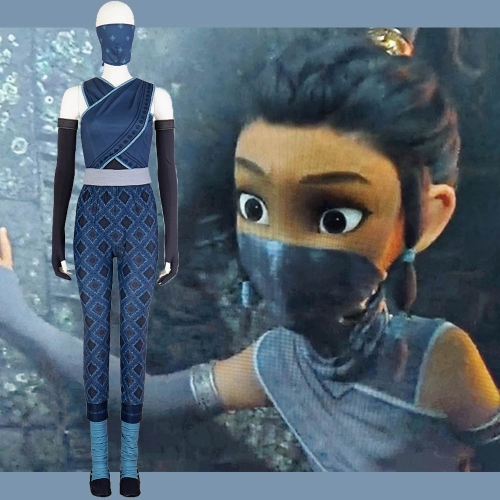 Raya and the Last Dragon Young Raya Cosplay Costume