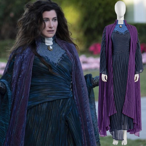 WandaVision Agnes Agatha Harkness Cosplay Costume